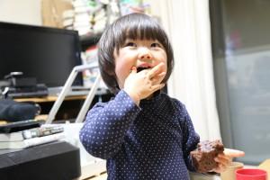 杏とチョコケーキ1IMG_8422