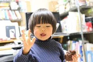 杏とチョコケーキ3IMG_8432
