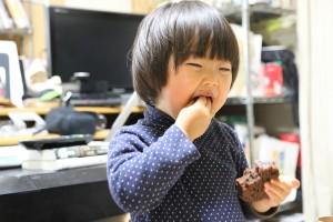 杏とチョコケーキ2IMG_8431